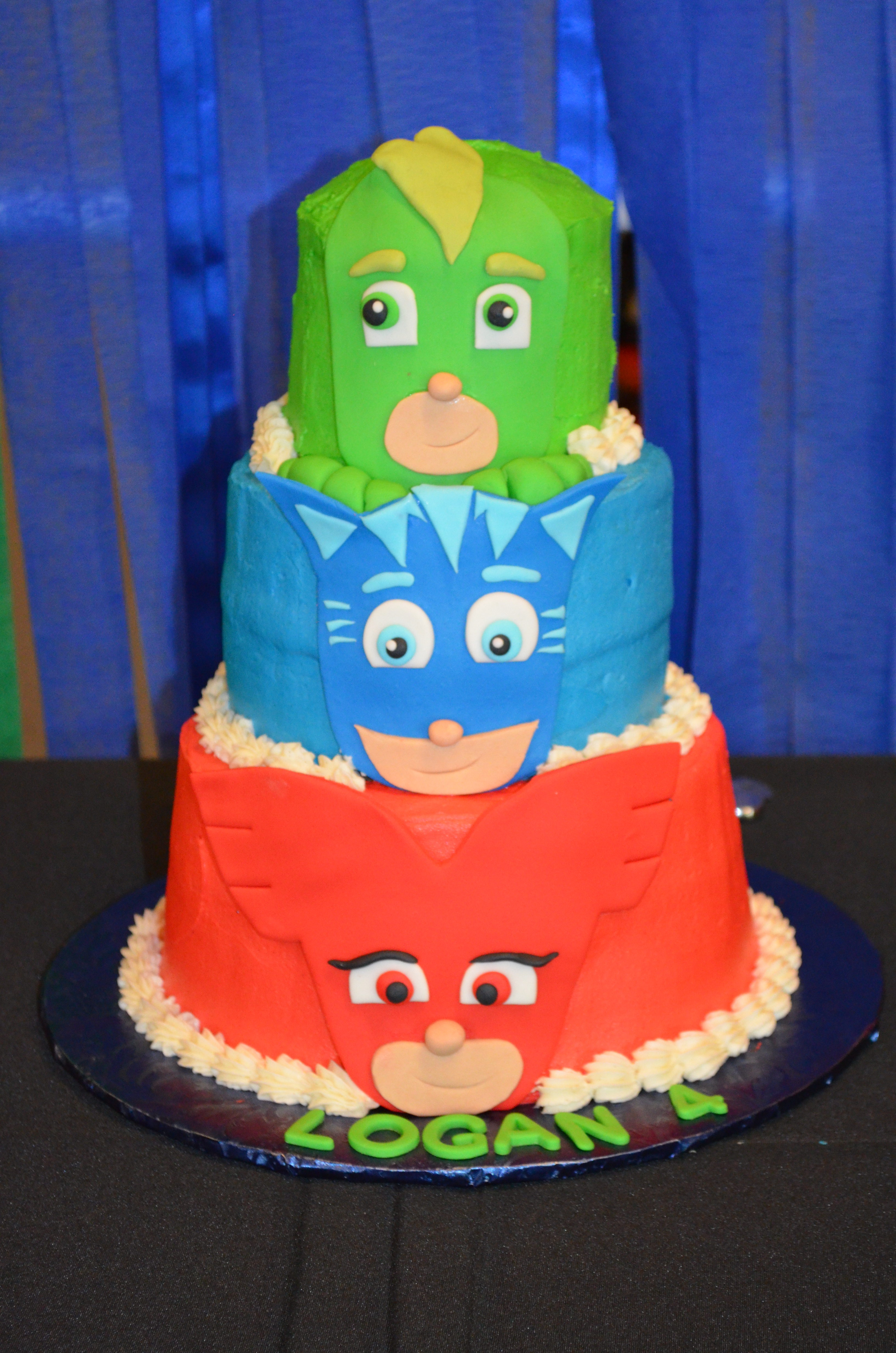 Pj Masks Themed Birthday Party Str Events