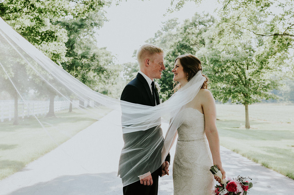Darby House Wedding / Blush and Sage Wedding