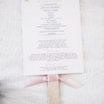 Wedding Program / Blush and Sage Wedding
