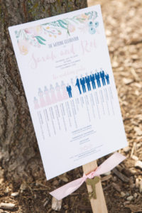 Wedding Program / Topiary Park Wedding
