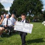 Wedding Signage / Topiary Park Wedding