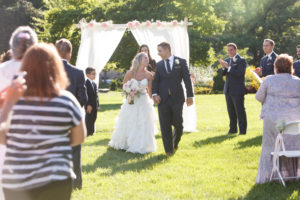 Just Married / Topiary Park Wedding