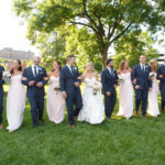 Wedding Party / Topiary Park Wedding / Blush Wedding