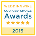 Wedding Wire Couples' Choice Award-2015