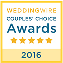 Wedding Wire Couples' Choice Award-2016