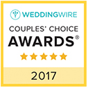 Wedding Wire Couples' Choice Award-2017