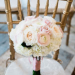 Ribbon Wedding Bouquet/Westin Columbus Wedding
