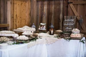 Dessert Table, cookie display