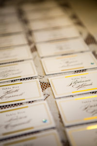 Kelton House, Wedding, Escort Cards, Lace