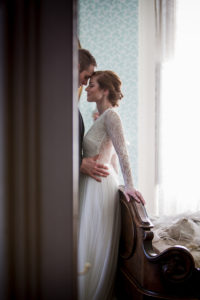 Bride and Groom, Wedding, Kelton House, Historic Home Wedding