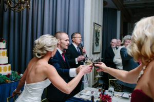 Bride and Groom, Toasts, The Athletic Club of Columbus