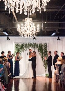 Wedding Ceremony, First Kiss