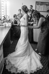 Wedding Dress, Getting Ready